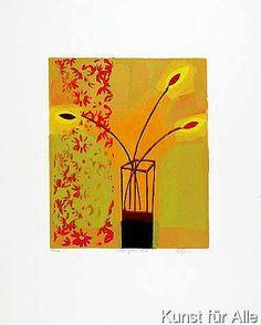 Russel Baker - Yellow Glass Vase (2000)