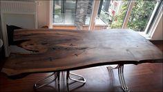 Ceviz tek parça ağaç yemek masası uygulamamız. Kişiye özel doğal mobilya uygulamalarımızı incelemek için sizleri de mağazamıza bekliyoruz.