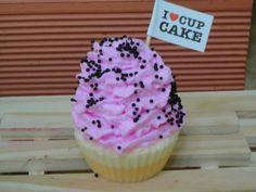 Sabonete Cupcake Frutas Vermelhas R$22,00
