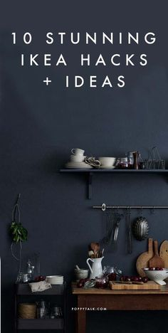 10 Stunning Ikea Hacks + Ideas to bookmark - all from stylists, architects and magazines   Poppytalk