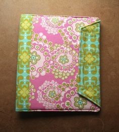 Notebook Binder Cover Sewing Pattern