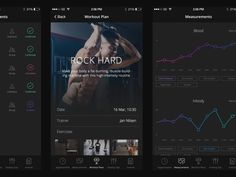 In this collection we have gathered 30 Gorgeous Examples Of fitness or workout mobile apps UI design. Use these fitness apps ui design for inspiration on parts of your mobile ui app design. App Ui Design, Mobile App Design, Web Design, Sports Website, Mobile App Ui, Interactive Design, User Interface, Fitness App, Workout