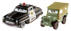 DisneyPixar Cars Collector DieCast Sheriff and Sarge Vehicle 2Pack *** Amazon most trusted e-retailer