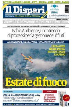 La copertina del 29 agosto 2016 #ischia #ildispari