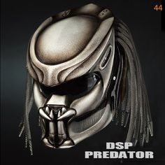 Your place to buy and sell all things handmade Predator Helmet, Motorcycle Style, Motorcycle Helmet, Black Dots, Full Face, Trending Outfits, Stuff To Buy, Shopping, Cellos