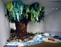 Cloth Installation Art