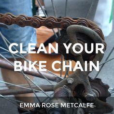 Clean your bike chain: a How.Do DIY original