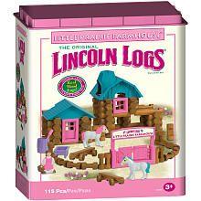 "K'NEX Lincoln Logs Building Set - Little Prairie Farmhouse - K'NEX - Toys ""R"" Us"
