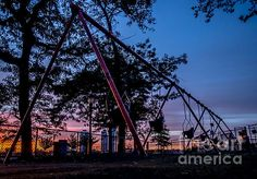 Beautiful composition within a composition from James  #newyorkcity #sunrise #swingset #homedecor via @jamesaiken09