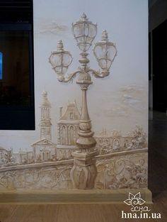 Объемная роспись стен Балашиха