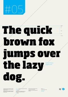 I love the use of big type with small callouts and small paragraphs in grid at the bottom. One color, some numbers, so well put together.