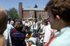Vietnam Protest at Kent State on May 4, 1970