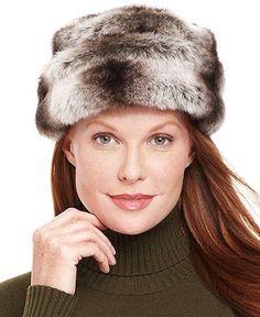 Nine West Hat, Faux Fur Cuff Cloche - Handbags & Accessories - Macy's