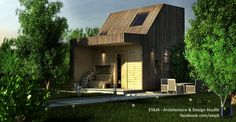 Architecture project for a cabin by the lake, near Cluj, Romania // Architecture, design & visualization by ETAJ4