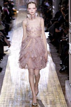 Valentino Spring 2011 Couture Fashion Show - Siri Tollerød