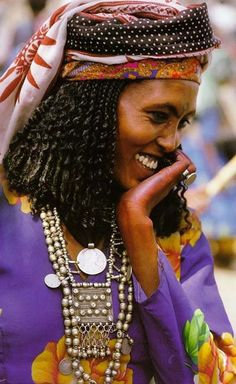 Oromo tribe,Ethiopia Beautiful Woman.