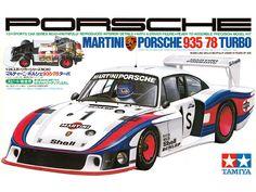 Boxart Porsche 935-78 Turbo 24010 Tamiya