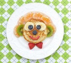 ¡Por fin es #juernes! #tortitas #fruta #meriendasdivertidasysaludables #healthy