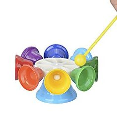 TSLIKANDO 8 Note Diatonic Metal Bells Glockenspiels Chromatic Musical Instrument Set for Kids ** Check this awesome product by going to the link at the image. (This is an affiliate link) Best Toddler Toys, Best Baby Toys, Music Sound Effects, Baby Playroom, Musical Toys, Toddler Learning, Baby Games, Play To Learn, How To Better Yourself