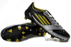e88b1104dc2 Adidas F50 Adizero MiCoach Leather BlackSliverYellow Running Shoes UK  Fashionable 2012 2013 TopDeals