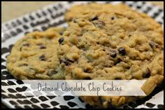 Delicious and easy Oatmeal Chocolate Chip Cookies recipe