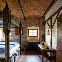 Unique medieval hotel in Detenice - accomodation you will never forget !
