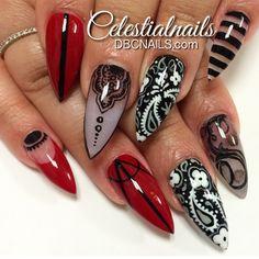 Stiletto Nails..