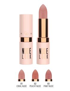 Perfect Matte Lipstick that creates matte, natural, velvety finish on the lips with its high pigmented formula which contains moisturising agent and Vitamin E. It glides on smoothly, provides long wear natural nude shades on the lips. Golden Rose Lipstick, Golden Rose Cosmetics, Matte Lipstick, Meka Up, Coral, Hair Brush, Lip Gloss, Nude, Skin Care
