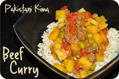 Pakistani Kima (Beef Curry)