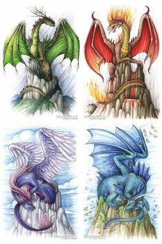 Element Dragons