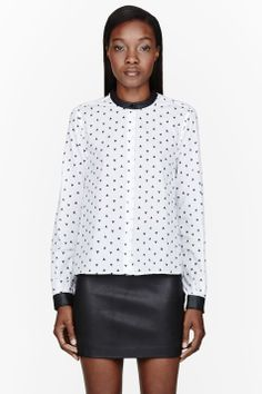 Monochrome style | BAND OF OUTSIDERS White Adventure 2600 Shirt