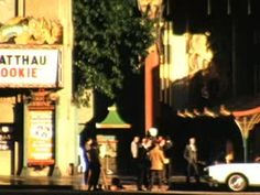 Hollywood, Graumans Chinese Theatre, California (Hollywood) - 1966  - Home Movie Clips