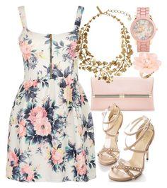 """Dress For This Summer!! ♥"" by deedee-pekarik ❤ liked on Polyvore featuring Cameo Rose, Diane Von Furstenberg, Oscar de la Renta, Aéropostale and Dettagli"