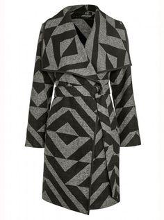 F&F Chevron Blanket Coat, £35