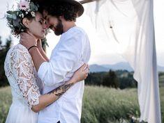 Boho Braut, Hochzeit in den Bergen, Freie Trauung, Birgit Schulz Hochzeitsfotograf, Salzburg, www.birgitschulz.at Boho Inspiration, Bergen, Couple Photos, Couples, Couple Pics, Couple Photography, Couple, Mountains
