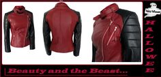 Visit: http://www.amazon.com/BEAUTY-BEAST-CATHERINE-CHANDLER-JACKET/dp/B00NU2LWJ8/  #CatherineChandler #Jacket inspired from the movie #BeautyandtheBeast. In a contrasting shade of #black and #maroon, look #stunning and #adorable. This Attire has all the amazing details that you will simply love AND available in all sizes. So order it now…  #halloween #halloweencostume #ilovehalloween #swag #sales #deals #shopping #clothing #superstar #awesome