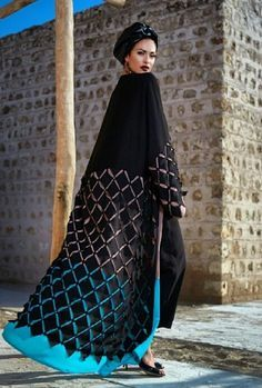 Ghizlan Designs #abaya #caftan #kaftan #bisht #islamicdress #arab For more abaya & caftan inspiration please visit my page: www.pinterest.com/santanadxb/abayas-bishts-kaftans-jalabiyas/