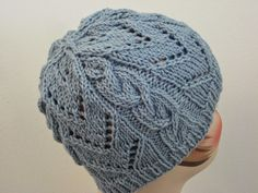 Chevrons & Cables Hat--Balls to the Walls Knits