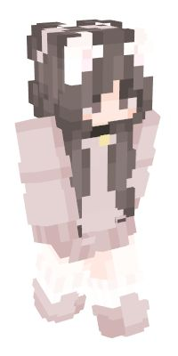 Check out our list of the best Neko Minecraft skins. Gato Minecraft, Minecraft Skins Kawaii, Cool Minecraft, How To Play Minecraft, Minecraft Designs, Minecraft Ideas, Neko, Skin Mine, Minecraft Skins Aesthetic