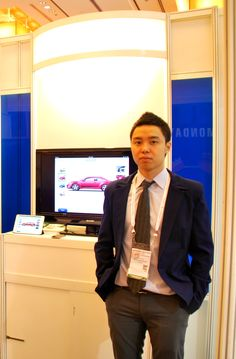 Mr. Andy Pham (Marketing Manager - TMA Mobile Soltuions). — in Singapore.