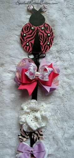 http://www.facebook.com/pages/Spoiled-Rotten-Cotton-Boutique/132728380133473  Hand Painted Zebra Ladybug