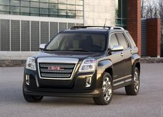 2011 GMC Terrain thats my car except I added strobe lights to the grill.