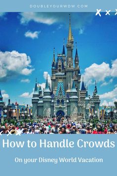 How to Handle Crowds at Disney World. Disney World tips and tricks to make your family vacation the best. Disney vacations will be fun with these Disney tips and tricks. Disney World Shows, Disney World Rides, Disney World Parks, Disney World Planning, Walt Disney World Vacations, Disney World Tips And Tricks, Best Vacations, Disney Tips, Disney Crowds