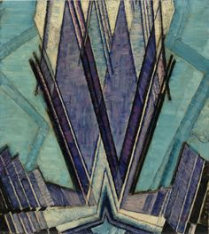 František Kupka | Form of Blue (La Forme du bleu) |  1925 | Guggenheim Museum