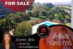 Apartment with Panoramic Views. Immediately available. This extremely neat, one bedroom apartment with a floor size of 57sqm, is ideal for first time Buyers, Bachelor, Bachelorette or the Investor. The well-sized apartment is perfect for someone, who wants excellent location and it provides all the comforts. #CCH #bellville #bellvillepark #apartment #1bedroom #capetownproperties #amenities #propertiesforsale #flatforsale #propertyforsale #capecoastalhomes #estateagents #desireeabels 1 Bedroom Apartment, One Bedroom, Flats For Sale, Apartments For Sale, Coastal Homes, Be Perfect, Property For Sale, Floor, Park
