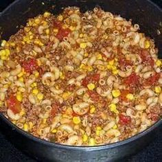 Hillbilly goulash