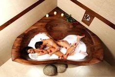 Wooden bathtub Raja