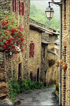 Village Lane...that looks so cool and rustic