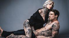 Ryan Ashley and Arlo DiCristina Take INKED to the Next Level #tattoos #tattoo #sexy #ryanashley #arioDiCristina
