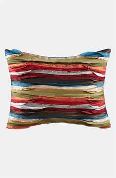 Gypsy Interior Design-Dress My Wagon| Serafini Amelia| Travel Trailer/ RV Decor| Tracy Porter 'Poetic Wanderlust' Faux Silk Pillow available at #Nordstrom